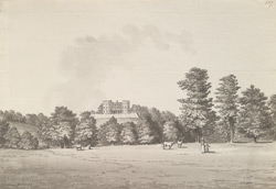 The residence of the Duchess of Beaufort at Stoke